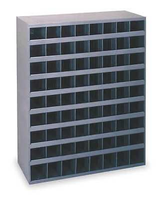 72 Bins Unit, Shelving and Storage, Gray Drawer Cabinet, Steel Material