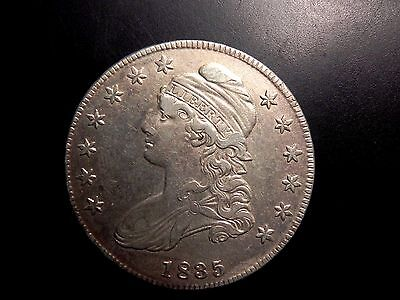 Beautiful Rare 1835 Silver Bust Half Dollar Au-Unc Buy It Now Or Offer