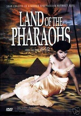 Land of the Pharaohs - Joan Brand New and Sealed Region 2 Compatible DVD