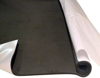 Closed cell SELF ADHESIVE polyethylene waterproof insulating foam sheet 1m x 1m