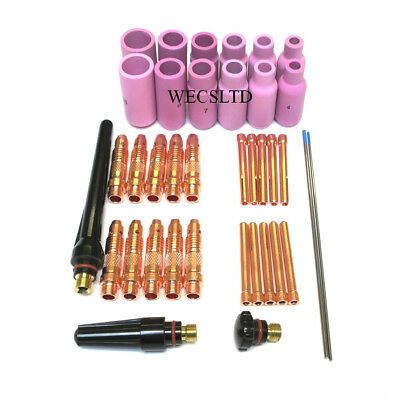 WP-17, WP-18 and WP-26 TIG A/C, D/C Welding Torch Accessory Kit 36 Piece (73)