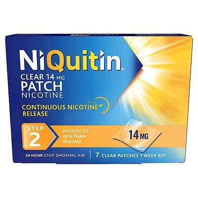 Niquitin Clear 14Mg Nicotine Patch Step 2 - 7 Patches