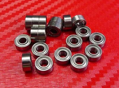 "R133zz 5 Pcs 3//32/"" x 3//16/"" x 3//32/"" Metal Shielded Ball Bearing Bearings R133"