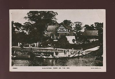 Cheshire CHESTER Eccleston Ferry on the Dee Used 1907 RP PPC