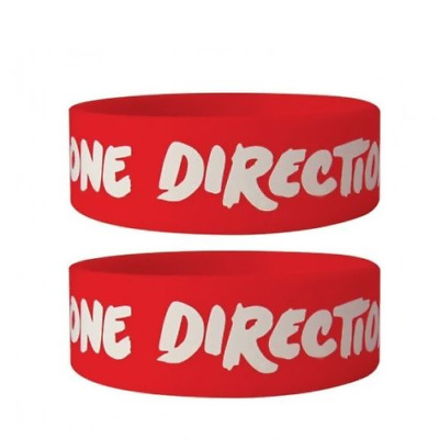 *NEW* One Direction (Logo) Silicon / Rubber Wristband BY PYRAMID