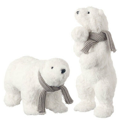"Raz Imports 17"" Polar Bear (Set Of 2)"