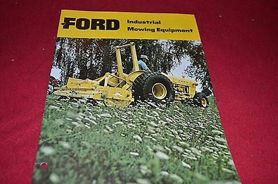Ford Tractor Industrial Mowing Equipment Dealer's Brochure DCPA2