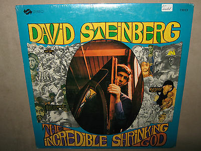 DAVID STEINBERG The Incredible Shrinking God NEW LP 1969 73013 ORIGINAL SEALED