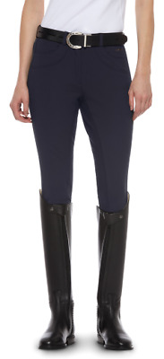 Ariat Olympia Regular Fit Full Seat Breeches - Navy Blue