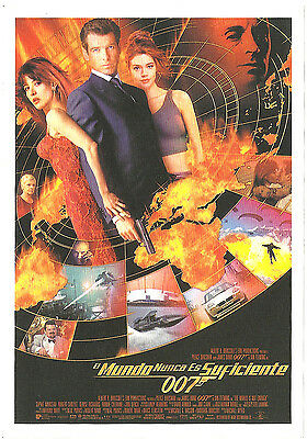 The World Is Not Enough James Bond 007 Spanish Herald Mini Poster