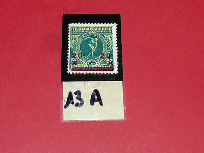 Timbres N°13 A & B Panini Olympia 1896-1972 Jeux Olympiques Olympic Games