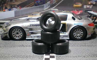 1/32 URETHANE SLOT CAR TIRES 2pr PGT-21125LM fit SCX Mercedes Benz SLS
