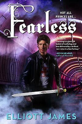 Fearless by Elliott James (English) Paperback Book Free Shipping!