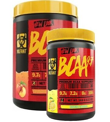 Mutant BCAA 9.7 1044g Protein Synthesis Muscle Growth RECOVERY 90 servings BIG