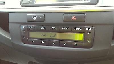 Toyota Hilux Heater / Aircon Controls Sr5 Climate Type, '10/2008- 09 10 11 12