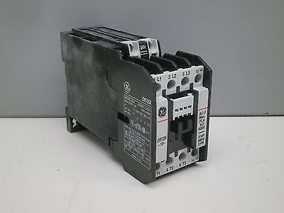 GE Spectra 700 DC-Operated Magnetic Contactor CR7ZAL 5HP 460V 3Ph 24VDC Coil NO