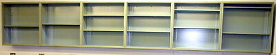 Fisher Hamilton Laboratory Wall Cabinets, Casework, 21 Feet