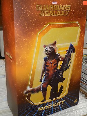 ROCKET RACOON Hot Toys 1/6 Figure -NEW! Guardians of the Galaxy