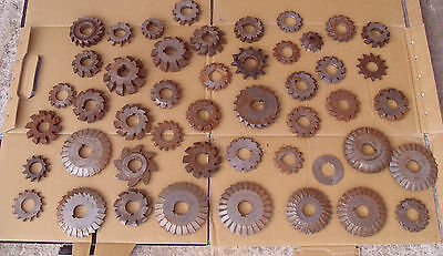 47 x Various Gear Cutters / Milling Cutters Etc - All As Seen