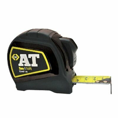 T3447 16' / 5M Heavy Duty Double Sided Tape Measure 25mm Blade with Auto Lock ck