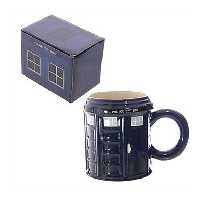 Police Box Dr Doctor Who Style Tardis Tea Coffee Mug Cup - Great Gift (LON54)
