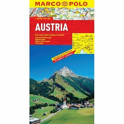 Austria Marco Polo Map MAIRDUMONT GmbH Co. KG Sheet map, folded 9783829767156