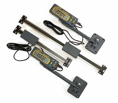"Igaging 2 pc set 6"" & 12"" 150 & 300 mm Absolute Plus Digital Readout DRO"