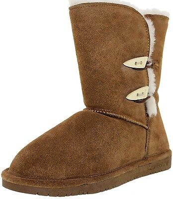 Bearpaw Women's Abigail Ankle-High Suede Boot