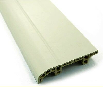 PVC Skirting Board accessories | White and Oak | UPVC | 80mm