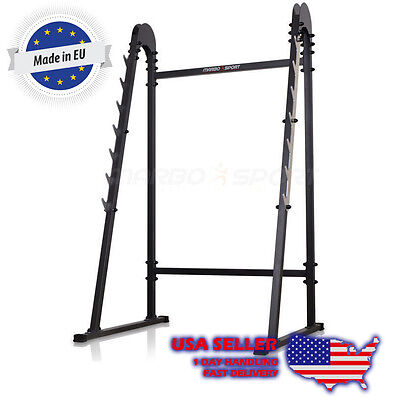 Marbo Sport  Power Rack Barbell Lifting Stand Squat Deadlift Curl Cage