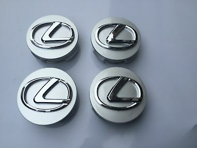 New Lexus Set Of 4 Wheel Hub Caps 62Mm Center Wheels Emblem Cap 4Pc 42603-30590