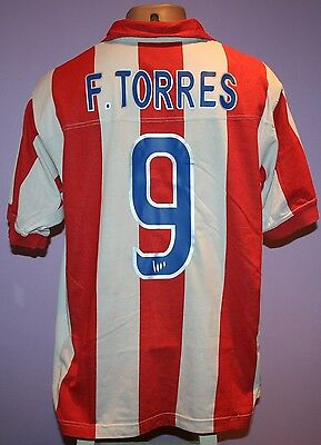 F.torres # 9 Atletico Madrid 2003/2004 Home Nike Shirt Size L