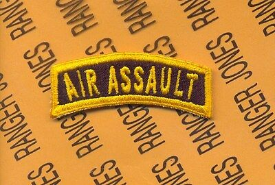 US ARMY AIR ASSAULT AASLT tab patch