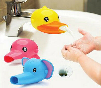 Fashion Faucet Extender For Children Toddler Kid Hand Washing in Bathroom Sink E
