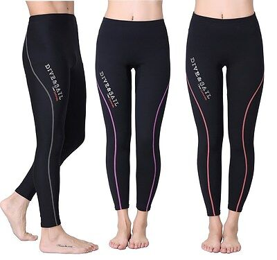 1.5mm Water Sport Neoprene Scuba Snorkel Surfing Diving Wetsuit Trousers Pants