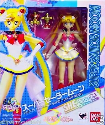 Bandai S.h.figuarts Shf Super Sailor Moon Action Figure