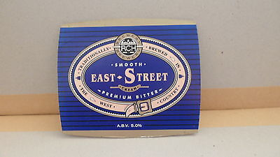 RCH Brewery East Street Bitter Ale Beer Pump Clip 26