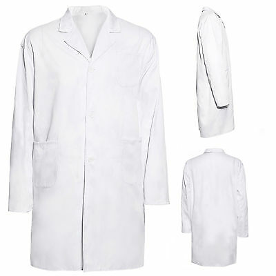 blouse blanche vetement travail etudiant laboratoire chimie technicien hygiene eur 12 99. Black Bedroom Furniture Sets. Home Design Ideas