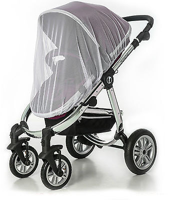 Universal Blue Insect Cover Mosquito insect sun protect net mesh Pram/Stroller J