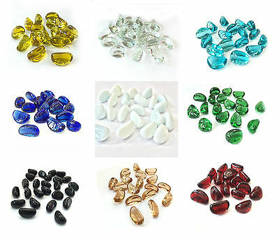 5KG Bucket Glass Nuggets / Pebbles / Stones / Gems In A Variety of Quantities