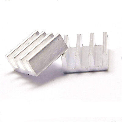 10pcs Aluminum Heatsink Radiator Heat sink Cooling fin 11*11*5.5mm for Chip LED