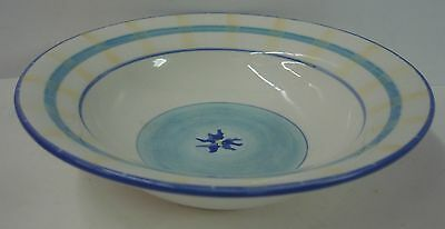 Block China FRENCH IRIS Rim Soup Bowl -More ITEMS Available