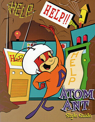 Hanna Barbera STYLE GUIDE PLATE - ATOM ANT