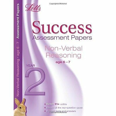Non-Verbal Reasoning Age 6-7 Macey Murrell Letts Educational Pape. 9781844195527