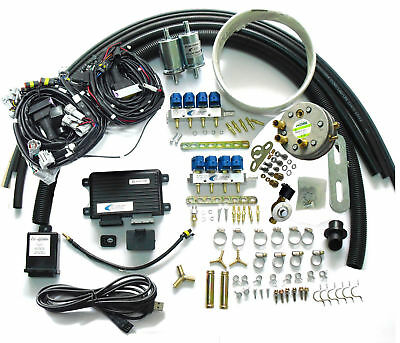 LPG Sequential Injection System Conversion Kits for 8cyl gasoline fuel injected