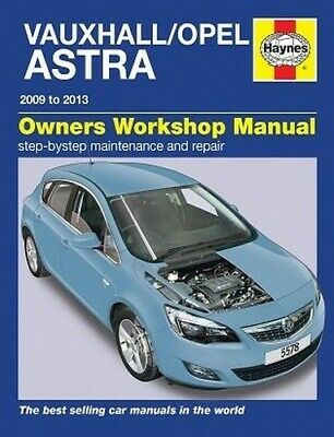 Manuale Haynes Vauxhall / Opel Astra Dicembre 2009 - 2013 5578 NUOVO
