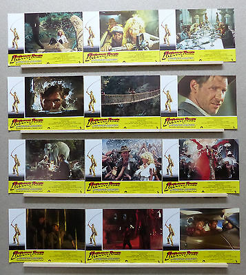 Indiana Jones and the Temple of Doom H. Ford S. Spielberg Lobby Set Spain 1984