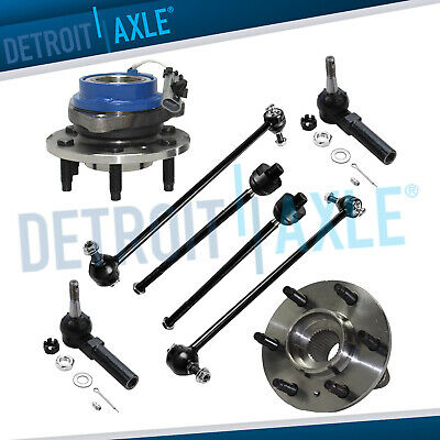 Brand New 8pc Complete Front Suspension Kit for Terraza Uplander Montana Relay