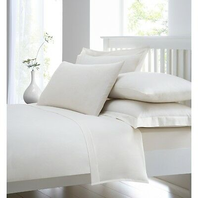 "400 Thread Count 100% Egyptian Combed Cotton Extra Deep Fitted Sheet 40cm (16"")"