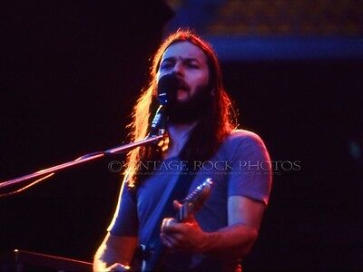 David Gilmour Pink Floyd Photo 8x10 or 8x12 inch Live '75 Wish You Were Here 733